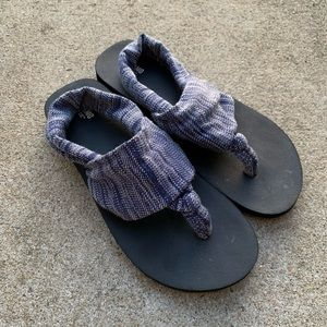 Mossimo Supply (Target) material sandals